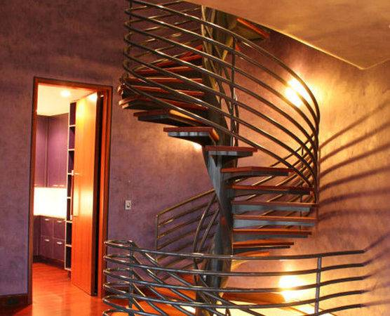 Modern Spiral Stairs Contemporary Staircase