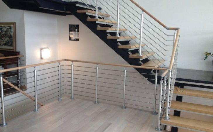 Modern Stair Railing Staircases Pinterest