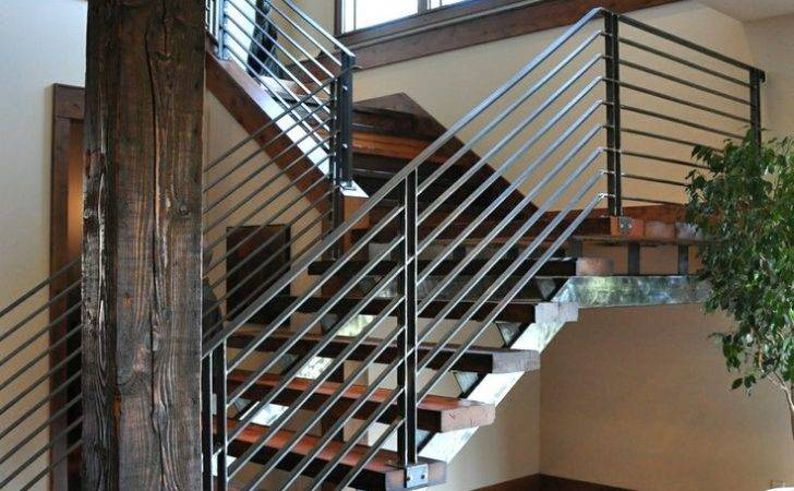 Modern Stair Railings Home Ideas Pinterest