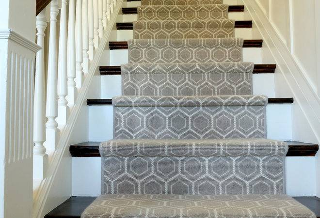 Modern Stair Runners Staircase Traditional Animal Print Carpet