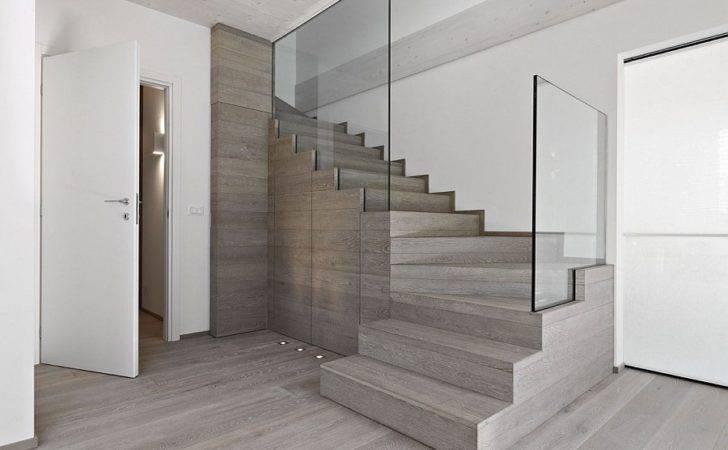 Modern Staircase Glass Railing Decoist