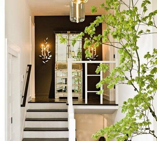 Modern Staircase Landing Decorating Ideas Get Inspired