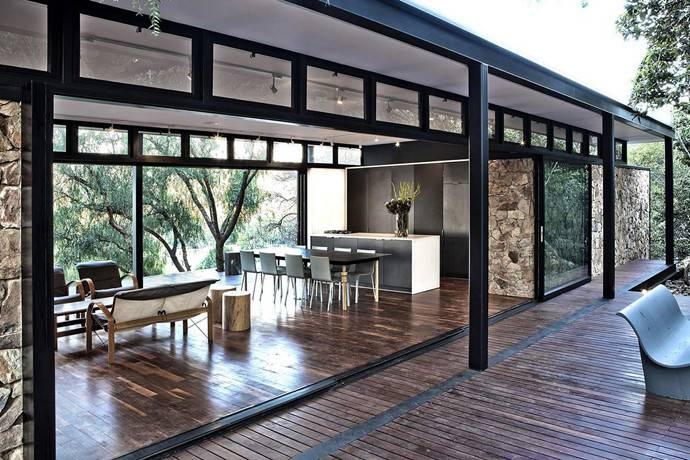 Modern Steel Framed Home Johannesburg South Africa Designrulz