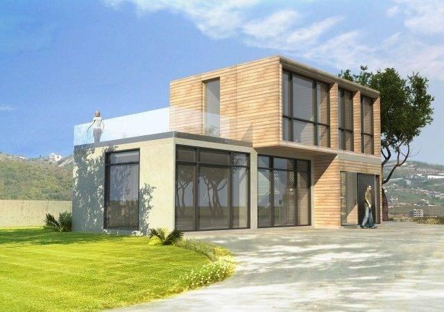 Modern Style Prefab Houses Mega