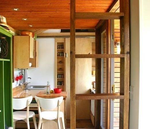 Modern Tiny Houses Interior Rustic