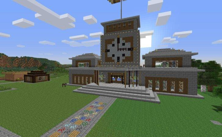 Modern Town Hall Minecraft Related Keywords