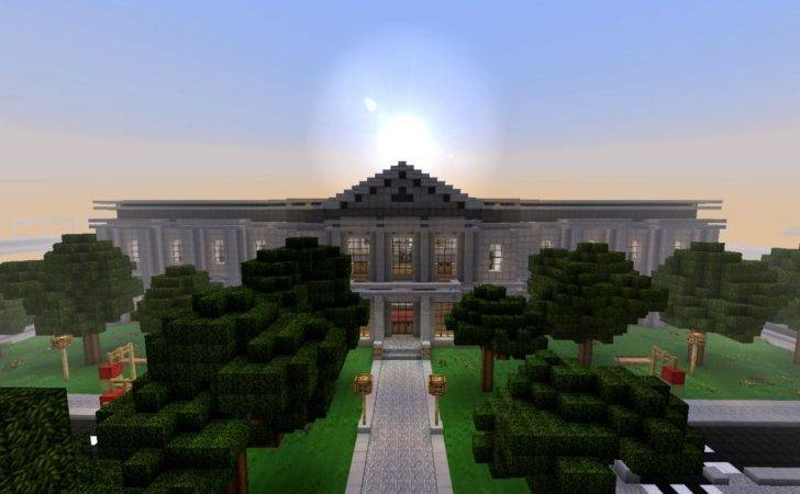 Modern Town Hall Related Keywords Minecraft