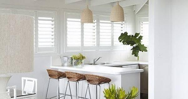Modern Tropical Kitchen Beach Style Home Decor Interior