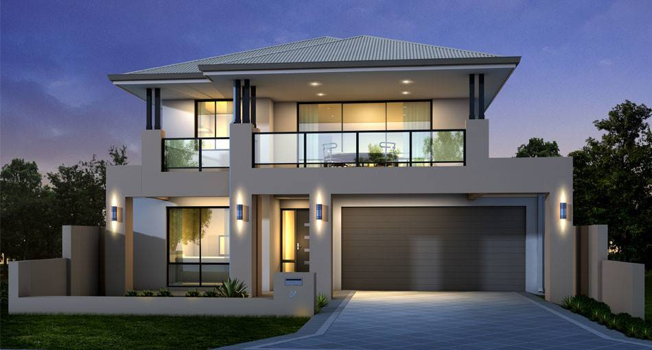 Modern Two Storey House Designs Simple Best New Home