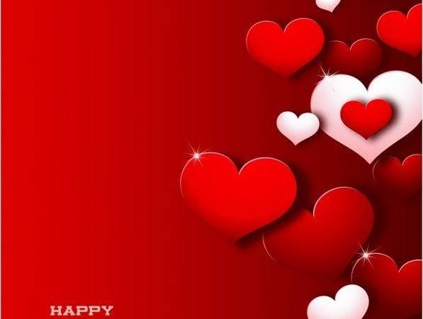 Modern Valentine Day Vector Adobe Illustrator