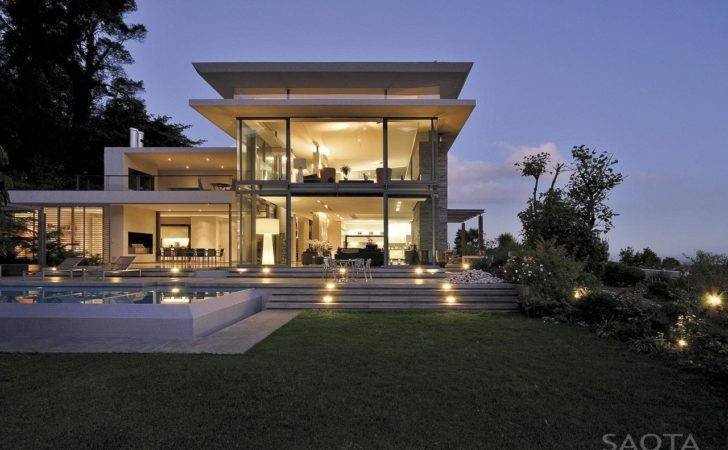 Modern Villa Montrose House Saota Cape Town South
