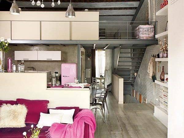 Modern Vintage Interior Design Shades Pink Digsdigs
