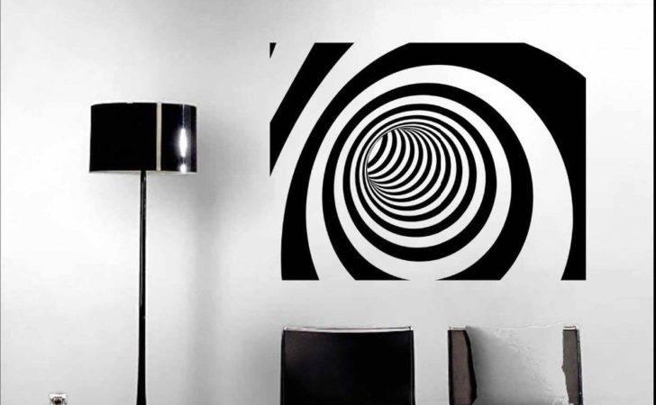 Modern Wall Art Decor Abstract Vinyl Sticker Decal