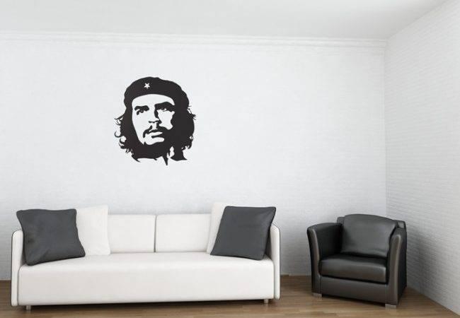 Modern Wall Stickers Interior Home Decorating Idea