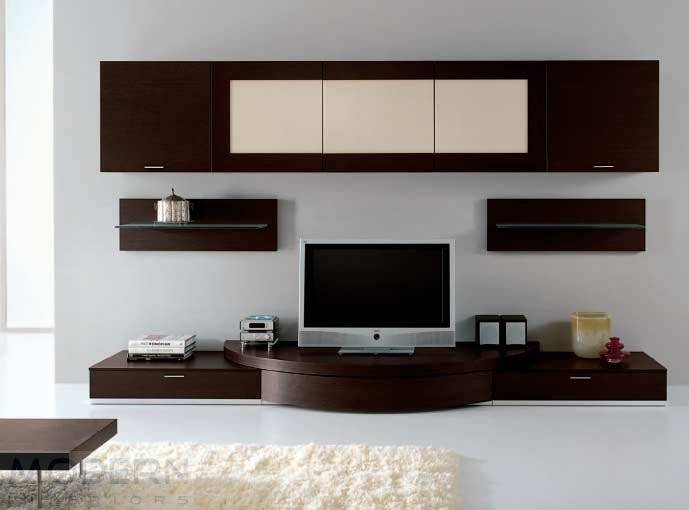 Modern Wall Units Entertainment Design
