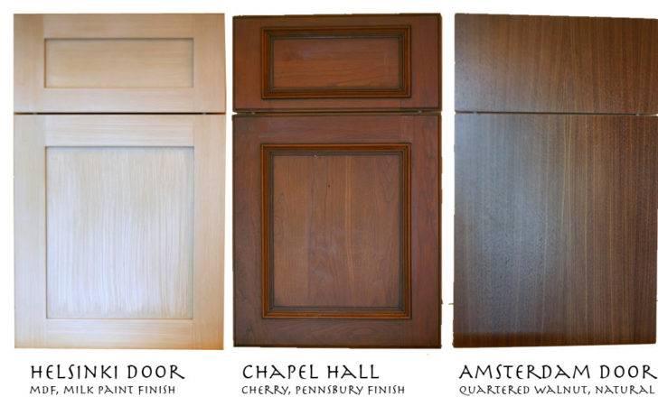 Modern Walnut Cabinet Milk Paint Rustic Cherry Door