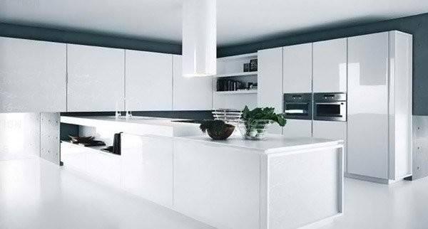 Modern White Kitchen Design Ideas Home Lover