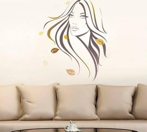 Modern Woman Sticker Wall Decals Wallartdecals Housewares