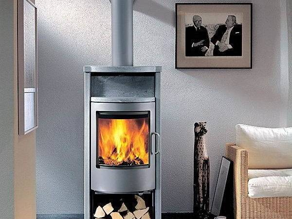 Modern Wood Burning Stove Contemporary