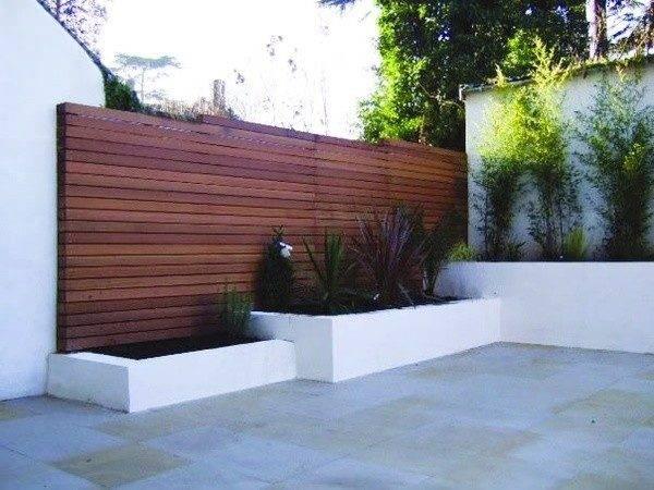 Modern Wood Fence Panels Pinterest