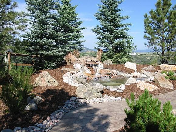 Modern Xeriscape Design Colorado