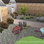 Modern Xeriscape Design Stone
