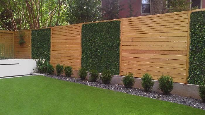 Modern Yard Fencing Fence Planter Lomets