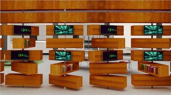 Modishly Unique Library Promises Reader Nest Designbuzz