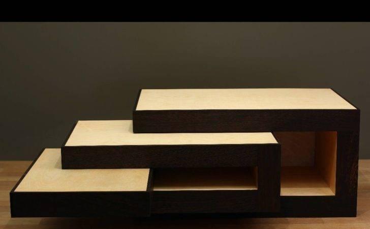 Modular Coffee Table Design Reinier Jong