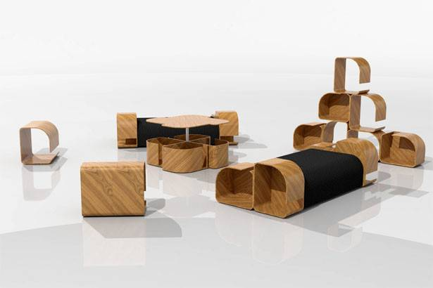 Modular Furniture Design Kriszti Griz Tuvie