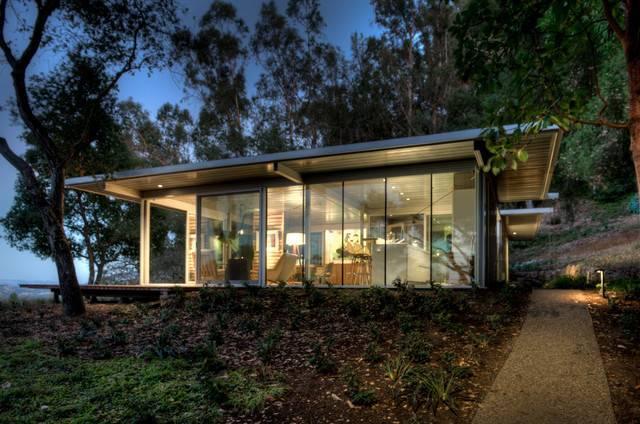 Modular Glass Guest House Modern Exterior San Francisco