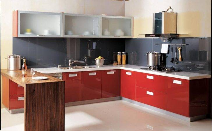 Modular Kitchen Cabinets Small Kitchens Design Ideas