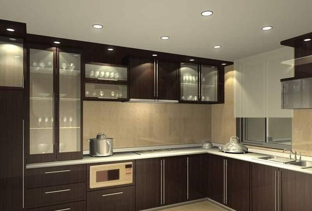 Modular Kitchen Indian Homes Well Designed