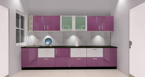 Modular Kitchen Plastic Furniture Temple Stone