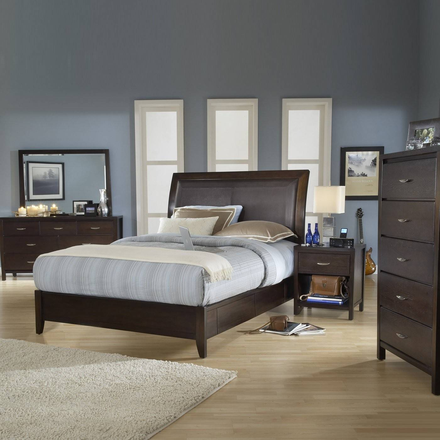 Modus Furniture Urban Loft Storage Panel Bedroom Set Atg Stores