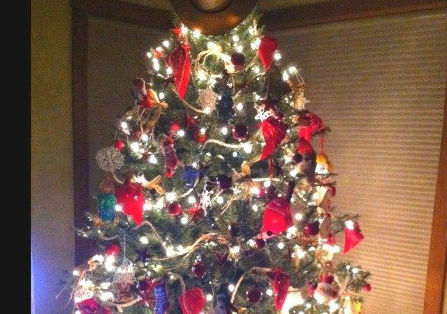 Mom Cowboy Christmas Tree