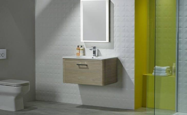 Moment Designer Modular Bathroom Furniture Illuminated Mirror Set