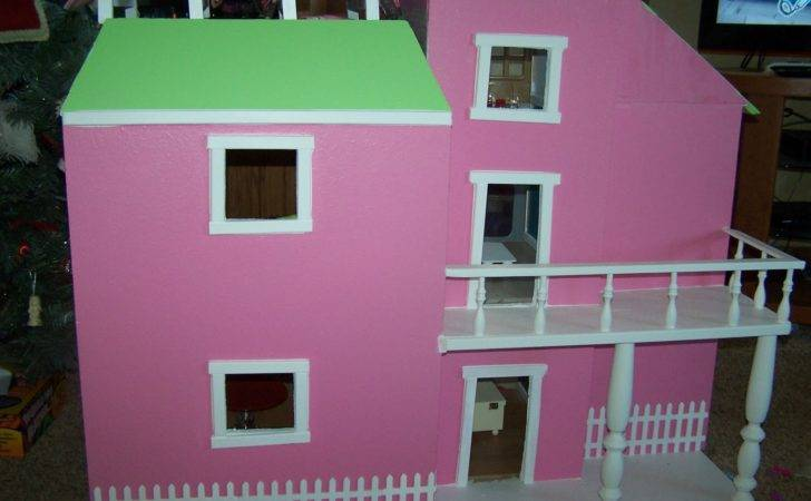 Mommy Menu Homemade Barbie House