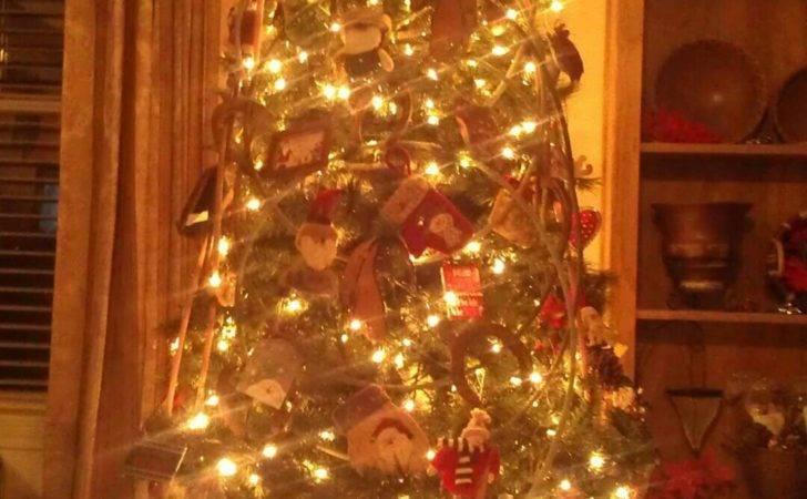 Moms Cowboy Christmas Tree Year Pinterest