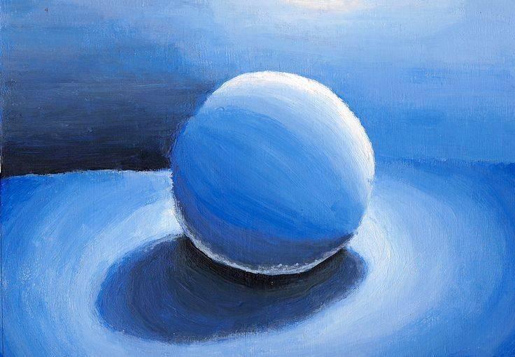 Monochromatic Art Tint Tone Shade Pure Blue