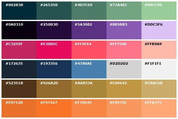 Monochromatic Color Scheme Examples Beautiful