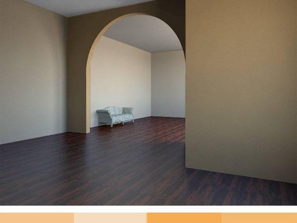 Monochromatic Color Scheme Yellow Cream Interior Space