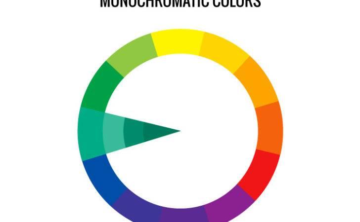 Monochromatic Colors Color Wheel Scheme