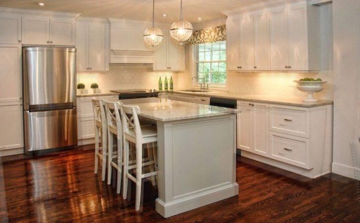 Monochromatic Kitchen Transitional Lux Decor