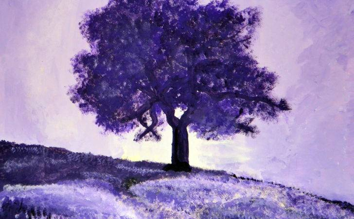 Monochromatic Landscape Painting Colour Theory