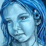 Monochromatic Painting Drawing Pinterest