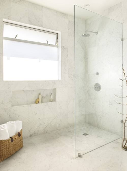 Montage Walk Showers Frameless Glass Partitions Stylecarrot