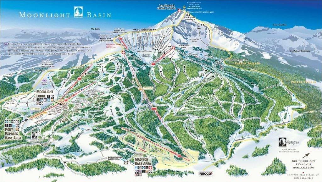 Montana Ski Resorts Bozeman Cross Country Skiing Bridger Bowl Big