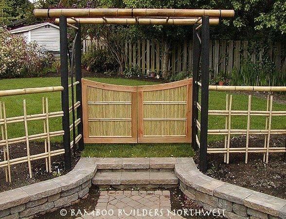 More Fence Bamboo Ideas Garden Japanese