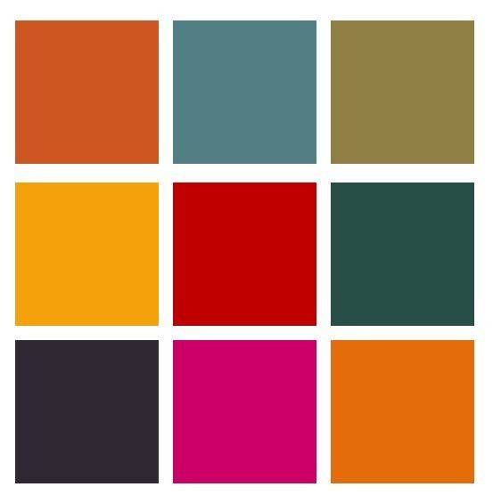 Moroccan Color Palette